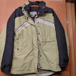 Columbia Jacket with zip out liner